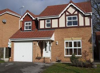 Thumbnail 4 bed detached house to rent in Gritstone Drive, Macclesfield, Cheshire