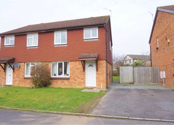 Thumbnail 3 bed semi-detached house for sale in Norman Close, Chippenham