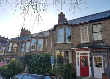 Thumbnail 1 bed flat to rent in Pendarves Road, Penzance