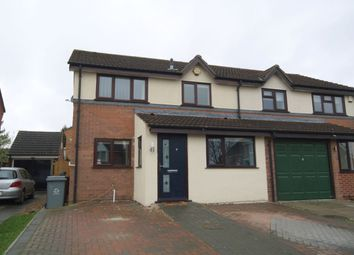 Thumbnail 3 bedroom semi-detached house for sale in Laud Close, Thorpe St. Andrew, Norwich