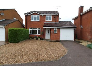 Thumbnail 4 bed detached house for sale in Bayswater Drive, Glen Parva, Leicester
