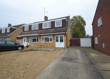 Thumbnail 3 bed semi-detached house for sale in Bilsdon Close, Rushden