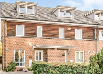 Thumbnail 3 bed town house for sale in Meadow Way, Caversham, Reading