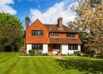 Thumbnail 5 bed detached house for sale in Russ Hill, Charlwood, Horley, Surrey