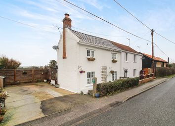 Thumbnail 2 bed cottage for sale in High Road, Great Finborough, Stowmarket