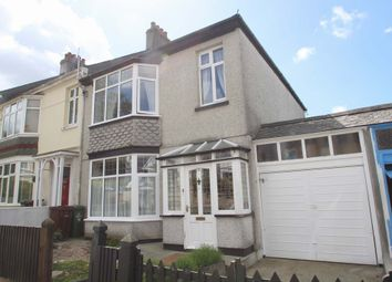 Thumbnail 3 bed terraced house for sale in Thornhill Road, Mannamead, Plymouth