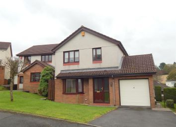 Thumbnail 4 bedroom detached house for sale in Clos Sant Teilo, Llangyfelach, Swansea