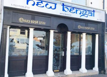 Thumbnail Restaurant/cafe for sale in 27 Stoke Road, Gosport