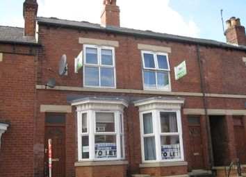 Thumbnail 3 bed terraced house to rent in Vincent Road, Sharrow, Sheffield