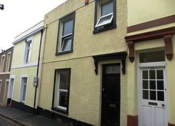 Thumbnail 3 bed terraced house to rent in Chedworth Street, Plymouth