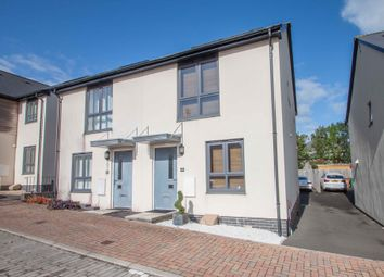 Thumbnail 2 bed semi-detached house for sale in Cobham Close, Plymouth