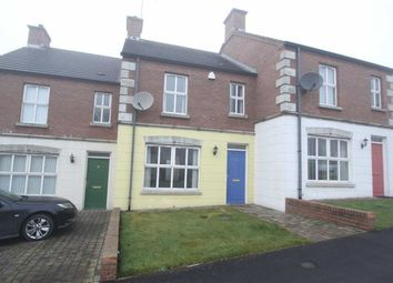 Thumbnail 2 bed terraced house for sale in Riverview Heights, Ballynahinch, Down