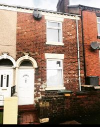 Thumbnail 3 bed terraced house to rent in Hall Street, Burslem, Stoke-On-Trent