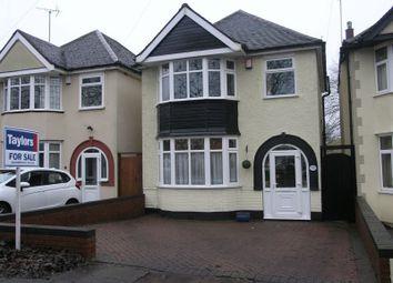 Thumbnail 3 bed detached house for sale in Quinton Lane, Quinton, Birmingham