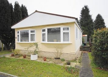 Thumbnail 2 bed mobile/park home for sale in St. Leonards Farm Park, West Moors, Dorset