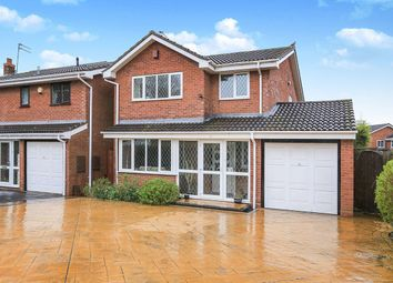 Thumbnail 4 bed detached house for sale in Hoylake Road, Perton, Wolverhampton