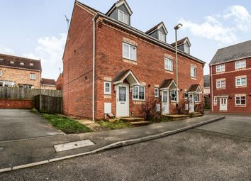 Thumbnail 3 bedroom town house for sale in Saxthorpe Road, Hamilton, Leicester