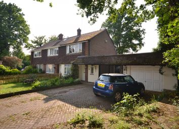 Thumbnail 3 bed semi-detached house for sale in Hawthorn Close, Hook Heath, Woking
