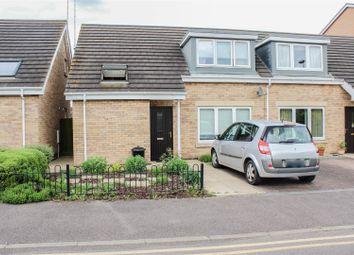 Thumbnail 2 bedroom semi-detached house for sale in Burton Street, Peterborough
