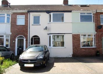 Thumbnail 3 bed terraced house for sale in Worthing Avenue, Gosport