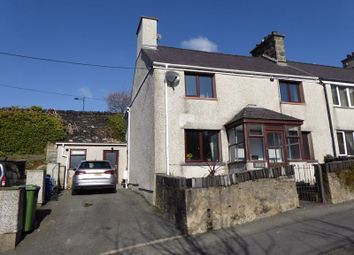 Thumbnail 4 bed semi-detached house for sale in Penybryn Road, Bethesda, Bangor