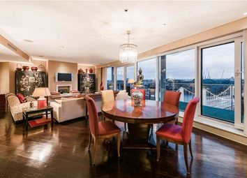 Thumbnail 3 bed flat for sale in Three Bedroom Penthouse. Chelsea Bridge Wharf