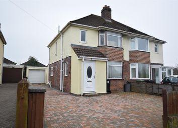 Thumbnail 3 bed semi-detached house for sale in Gaston Avenue, Keynsham, Bristol