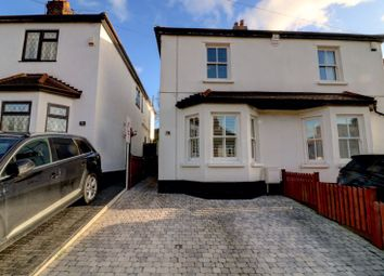 Thumbnail 3 bed semi-detached house for sale in Cromwell Road, Warley, Brentwood