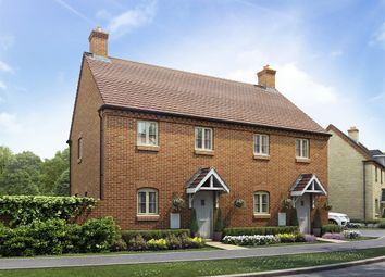 "Thumbnail 2 bedroom semi-detached house for sale in ""The Marston"" at Towcester Road, Old Stratford, Milton Keynes"