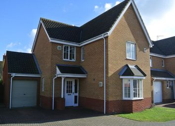 Thumbnail 4 bedroom detached house to rent in Rodber Way, Lowestoft