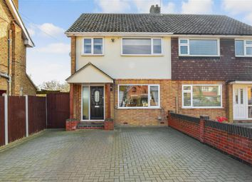 Thumbnail 3 bed semi-detached house for sale in Heath Road, Ramsden Heath, Billericay, Essex