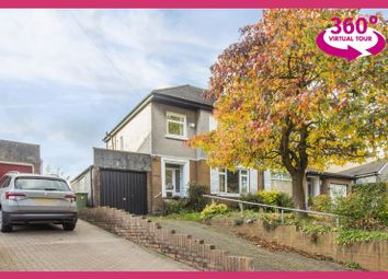 Thumbnail 3 bedroom semi-detached house for sale in Afon Close, Began Road, Old St. Mellons, Cardiff