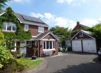 Thumbnail 4 bed detached house for sale in Tourney Green, Kingswood, Warrington, Cheshire