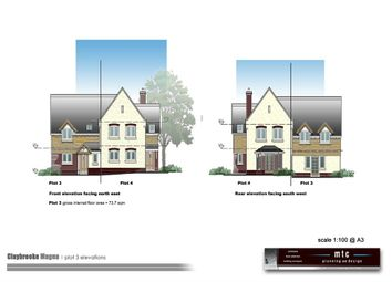 Thumbnail 3 bed semi-detached house for sale in Bell Street, Claybrooke Magna, Lutterworth