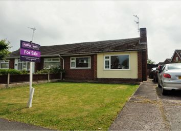 Thumbnail 2 bed semi-detached bungalow for sale in Coleridge Way, Crewe
