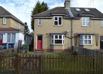 Thumbnail 4 bed semi-detached house to rent in Akeman Street, Cambridge