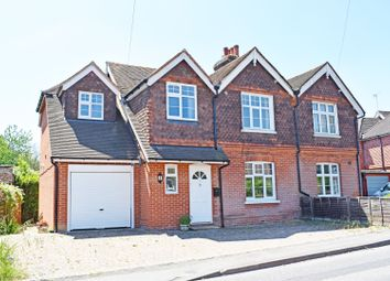 Thumbnail 4 bed semi-detached house for sale in Fox Corner, Guildford