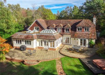 Thumbnail 5 bed detached house for sale in Hollybush Ride, Finchampstead, Wokingham, Berkshire