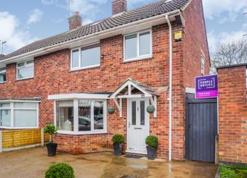Thumbnail 3 bed semi-detached house for sale in Baslow Close, Sawley, Long Eaton, Nottingham