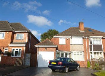 Thumbnail 3 bedroom semi-detached house to rent in Kingsdown Road, Birmingham