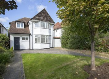 Thumbnail 3 bed detached house for sale in Newlands Avenue, Thames Ditton, Surrey