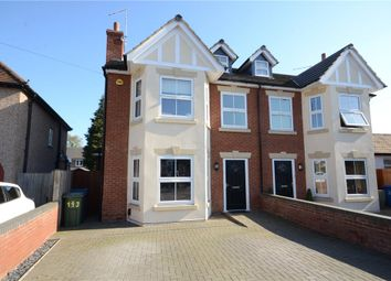 Thumbnail 4 bed semi-detached house for sale in Alwyn Road, Maidenhead, Berkshire