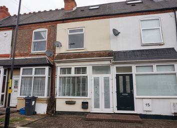 Thumbnail 3 bed terraced house for sale in Lime Grove, Wylde Green, Sutton Coldfield
