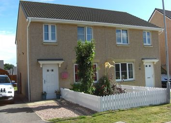 Thumbnail 3 bed semi-detached house for sale in Doocot Court, Elgin, Moray