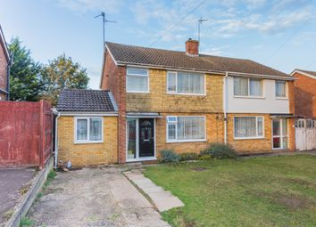 Thumbnail 3 bed semi-detached house for sale in Mountfield Road, Irthlingborough, Wellingborough
