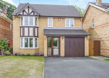 Thumbnail 4 bed detached house for sale in Greenfield Avenue, Balsall Common, Coventry