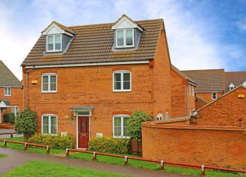 Thumbnail 4 bedroom detached house for sale in Tailby Avenue, Kettering
