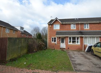 Thumbnail 3 bed semi-detached house for sale in Clos Hector, Cardiff