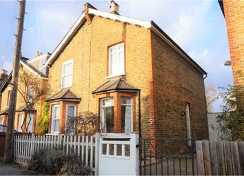 Thumbnail 3 bed semi-detached house for sale in Red Lion Road, Surbiton