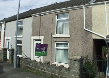 Thumbnail 2 bed terraced house to rent in Swansea Road, Waunarlwydd, Swansea